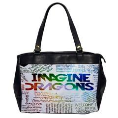 Imagine Dragons Quotes Office Handbags by BangZart