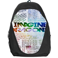 Imagine Dragons Quotes Backpack Bag by BangZart