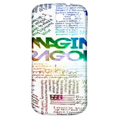 Imagine Dragons Quotes Samsung Galaxy S3 S Iii Classic Hardshell Back Case by BangZart