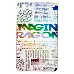 Imagine Dragons Quotes Samsung Galaxy Tab Pro 8 4 Hardshell Case by BangZart