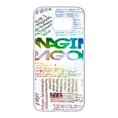 Imagine Dragons Quotes Samsung Galaxy S7 Edge White Seamless Case by BangZart