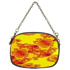 Floral Fractal Pattern Chain Purses (one Side)  by BangZart