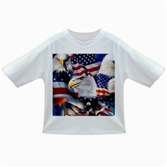 United States Of America Images Independence Day Infant/toddler T Shirts by BangZart