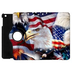 United States Of America Images Independence Day Apple Ipad Mini Flip 360 Case by BangZart