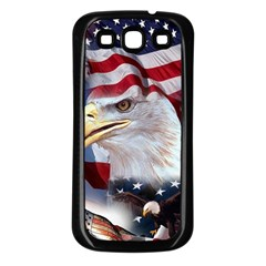 United States Of America Images Independence Day Samsung Galaxy S3 Back Case (black) by BangZart