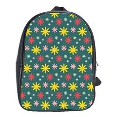 The Gift Wrap Patterns School Bags (xl)  by BangZart