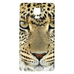 Leopard Face Galaxy Note 4 Back Case by BangZart