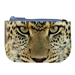Leopard Face Large Coin Purse by BangZart