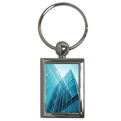 Glass Bulding Key Chains (rectangle)  by BangZart