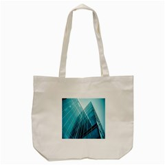 Glass Bulding Tote Bag (cream) by BangZart