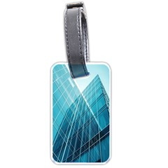 Glass Bulding Luggage Tags (one Side)  by BangZart