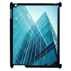 Glass Bulding Apple Ipad 2 Case (black) by BangZart