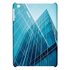 Glass Bulding Apple Ipad Mini Hardshell Case by BangZart