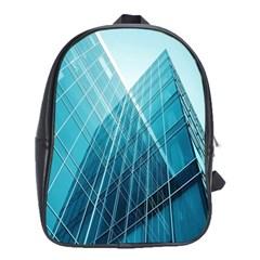 Glass Bulding School Bags (xl)  by BangZart