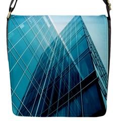 Glass Bulding Flap Messenger Bag (s) by BangZart