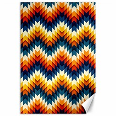 The Amazing Pattern Library Canvas 24  X 36  by BangZart