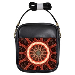 Circle Pattern Girls Sling Bags by BangZart