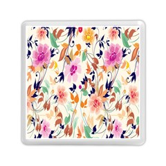 Vector Floral Art Memory Card Reader (square)  by BangZart