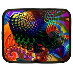 Colored Fractal Netbook Case (xxl)