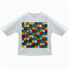 Snakes And Ladders Infant/toddler T Shirts by BangZart