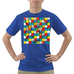 Snakes And Ladders Dark T Shirt by BangZart
