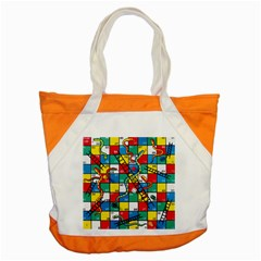 Snakes And Ladders Accent Tote Bag by BangZart