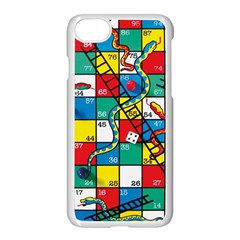Snakes And Ladders Apple Iphone 7 Seamless Case (white) by BangZart