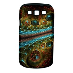 Fractal Snake Skin Samsung Galaxy S Iii Classic Hardshell Case (pc+silicone) by BangZart
