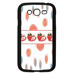 Strawberries Samsung Galaxy Grand Duos I9082 Case (black) by SuperPatterns