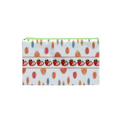 Strawberries Cosmetic Bag (xs) by SuperPatterns