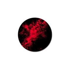 Red Smoke Golf Ball Marker by berwies