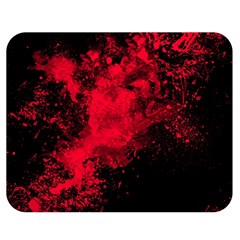 Red Smoke Double Sided Flano Blanket (medium)  by berwies