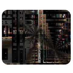 Blacktechnology Circuit Board Electronic Computer Double Sided Flano Blanket (medium)  by BangZart