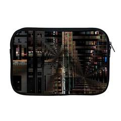Blacktechnology Circuit Board Electronic Computer Apple Macbook Pro 17  Zipper Case by BangZart