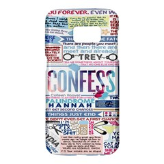 Book Collage Based On Confess Samsung Galaxy S7 Hardshell Case  by BangZart