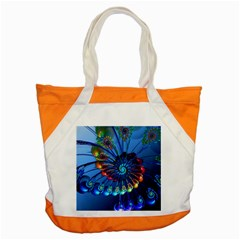 Top Peacock Feathers Accent Tote Bag by BangZart