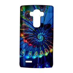 Top Peacock Feathers Lg G4 Hardshell Case by BangZart