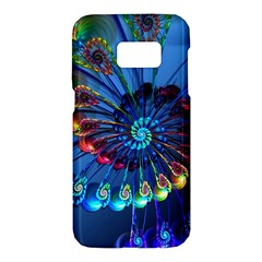 Top Peacock Feathers Samsung Galaxy S7 Hardshell Case  by BangZart