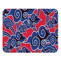 Batik Background Vector Double Sided Flano Blanket (large)  by BangZart