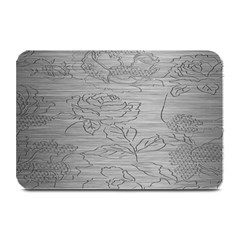 Embossed Rose Pattern Plate Mats by BangZart