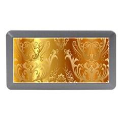 Golden Pattern Vintage Gradient Vector Memory Card Reader (mini)
