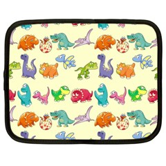 Group Of Funny Dinosaurs Graphic Netbook Case (xxl)  by BangZart