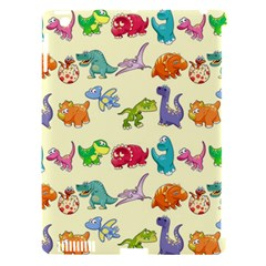Group Of Funny Dinosaurs Graphic Apple Ipad 3/4 Hardshell Case (compatible With Smart Cover) by BangZart