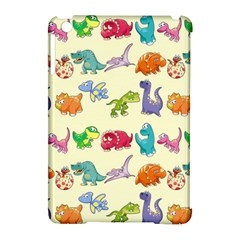 Group Of Funny Dinosaurs Graphic Apple Ipad Mini Hardshell Case (compatible With Smart Cover) by BangZart