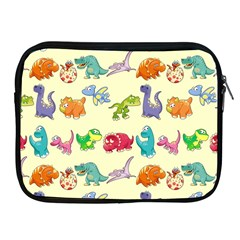 Group Of Funny Dinosaurs Graphic Apple Ipad 2/3/4 Zipper Cases by BangZart
