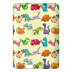 Group Of Funny Dinosaurs Graphic Kindle Fire Hdx Hardshell Case by BangZart