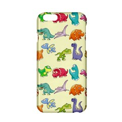 Group Of Funny Dinosaurs Graphic Apple Iphone 6/6s Hardshell Case by BangZart