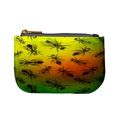 Insect Pattern Mini Coin Purses