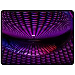 Glass Ball Texture Abstract Fleece Blanket (large)  by BangZart