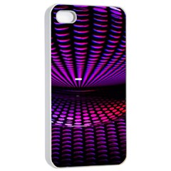 Glass Ball Texture Abstract Apple Iphone 4/4s Seamless Case (white) by BangZart